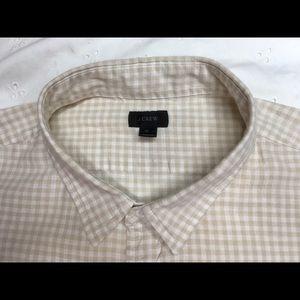 J.CREW button down long sleeve size XL